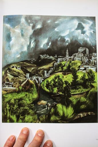 """A View of Toledo"" by El Greco, Metropolitan Museum of Art"