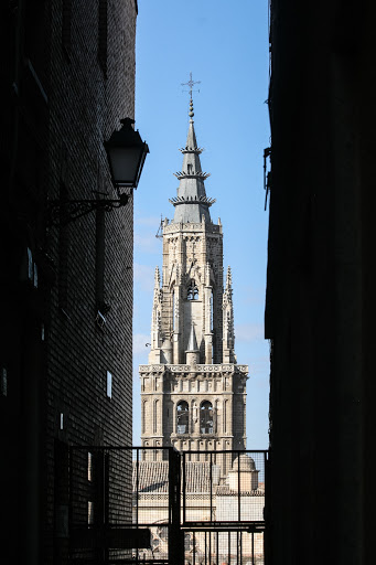 Spire of the Toledo Cathedral