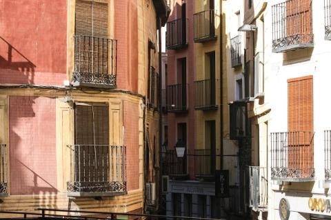 Narrow streets of Toledo