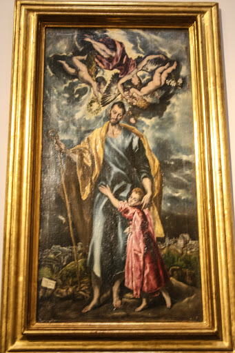 'Saint Joseph and the Christ Child' by El Greco