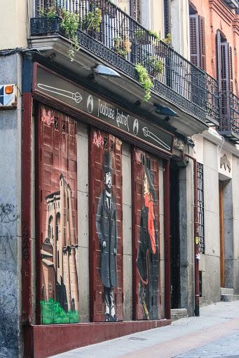 Madrid street scene