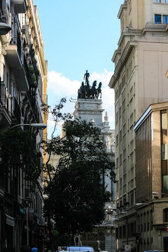 Typical Madrid street