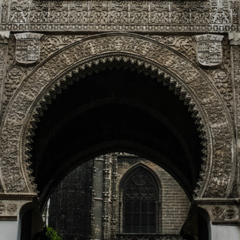 Horseshoe arch, Seville Cathedral