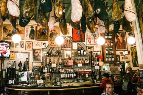 Tapas bar in Seville
