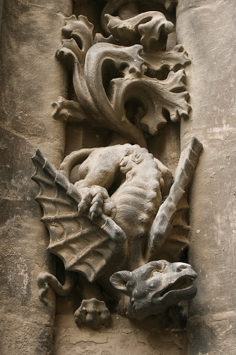 Detail, exterior Seville Cathedral