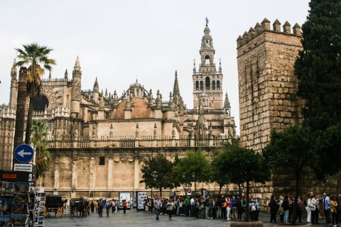 Seville Cathedral and La Giralda Tower
