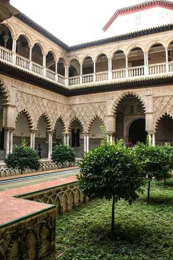 Courtyard of the Maidens, Alcazar