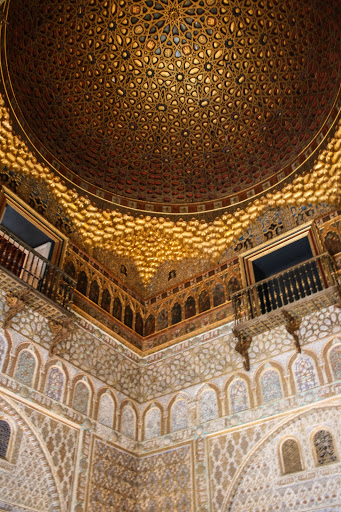 Ceiling in the Hall of the Ambassadors, Alcazar