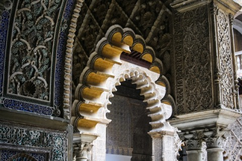Alcazar: arches within arches