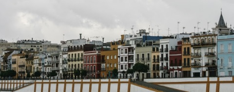 Triana, across the Guadalquivir River from Seville proper