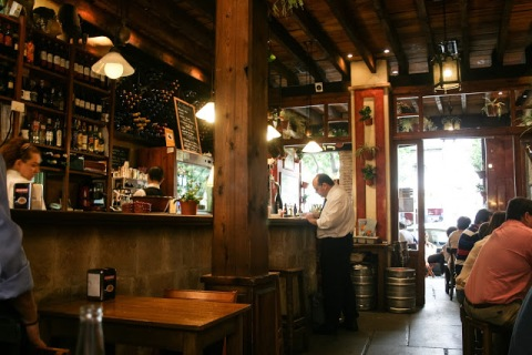We ate at this Seville tapa bar twice.  We loved the artichokes tapas.