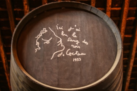 Signed sherry barrel