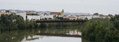 Cordoba long the banks of the Guadalquivir River