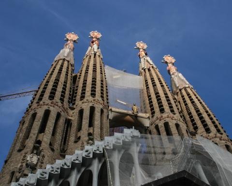 La Sagrada Familia, Gaudi's bascilica