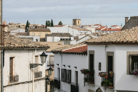The town of Baeza