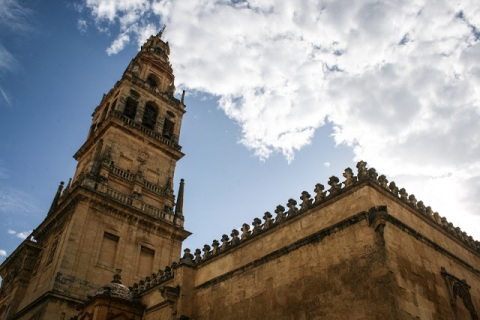 Cordoba's Mezquita, formerly a mosque, now converted into a cathedral