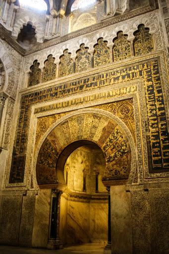 Mihrab, Mezquita
