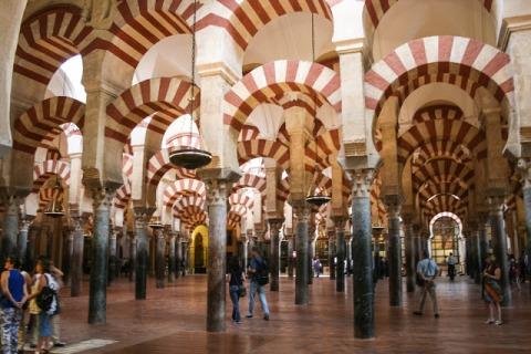 Interior, Cordoba's Mezquita