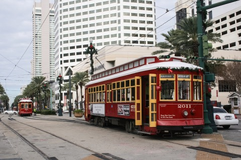 Streetcar on Canal Street