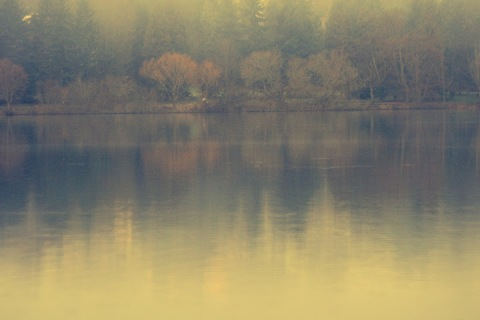 Green Lake in winter