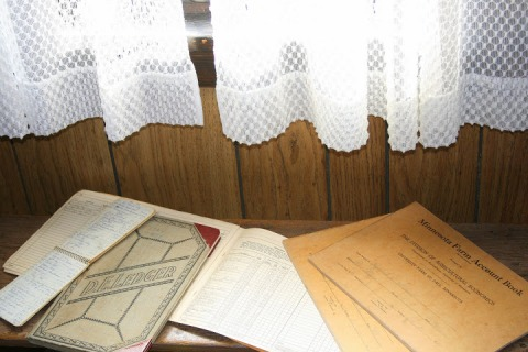 The farm ledger books