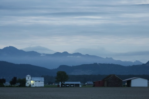 Dawn in the Skagit Valley