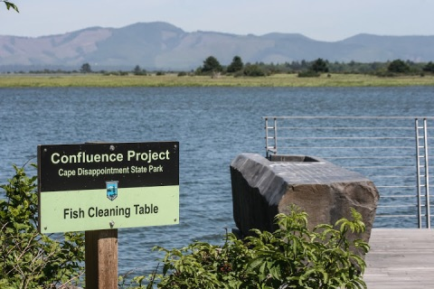 Fish-Cleaning Table, Confluence Project, Cape Disappointment State Park