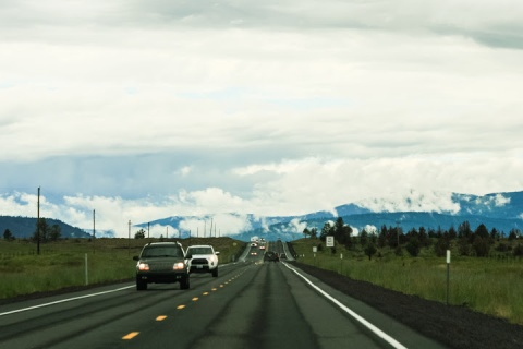 Driving home on Oregon Hwy 26