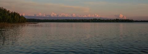 Same view, nearing sunset