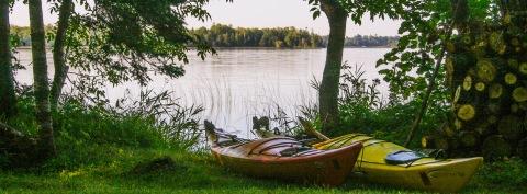 Kayaks, Big Turtle Lake