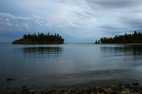 Quintessential North Shore scenery