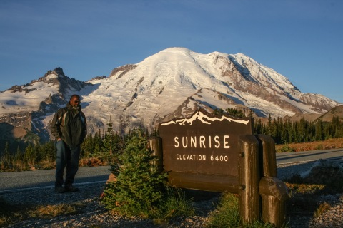 Sunrise at Sunrise, Mount Rainier National Park