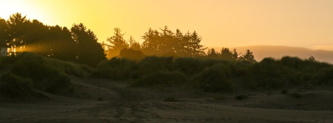 Sunrise in Bandon, OR