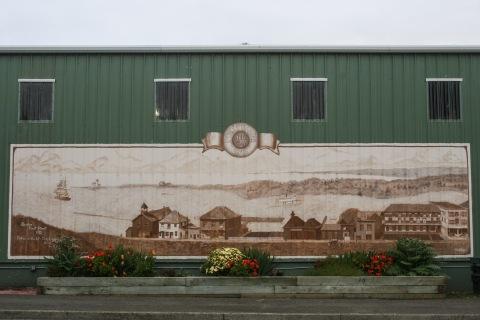 Bandon, Oregon mural