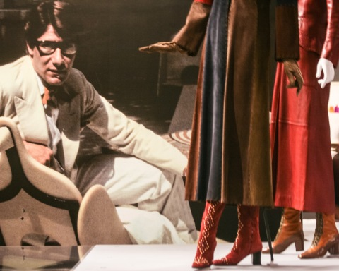 Yves Saint Laurent exhibit at the Seattle Art Museum