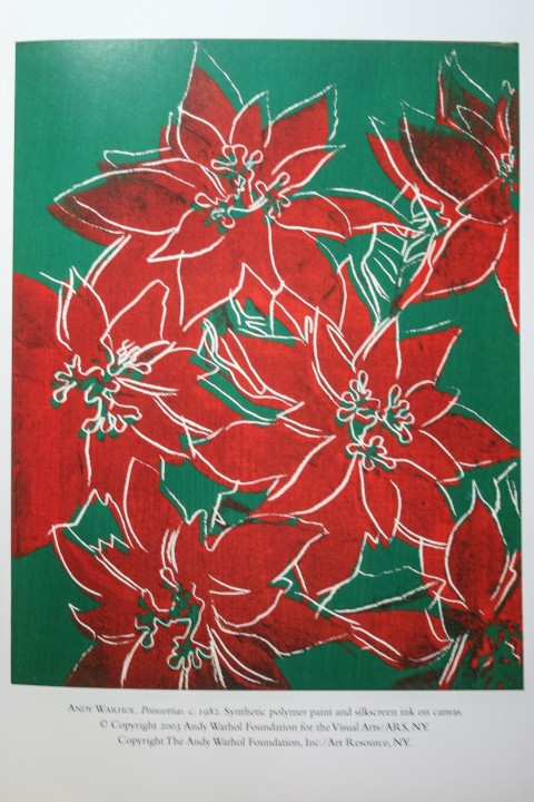 Poinsettias by Andy Warhol, 1982