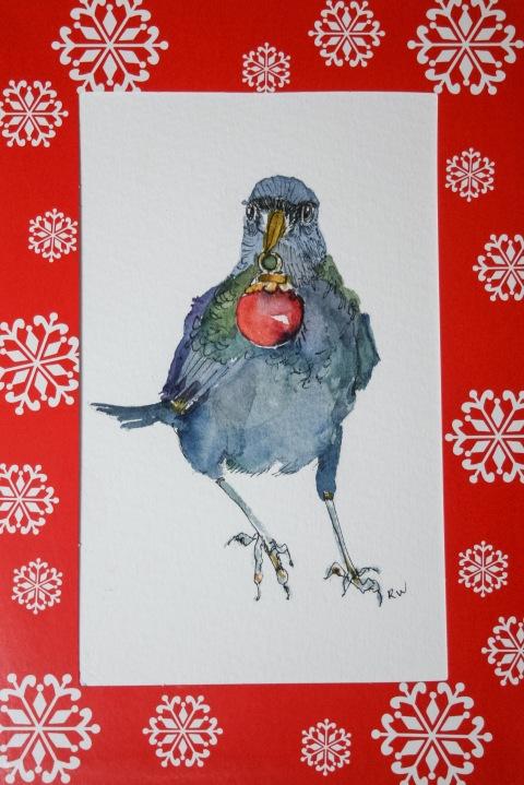 Christmas crow